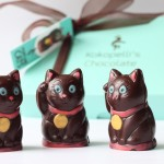 Dark Chocolate Fortune-Telling Cats