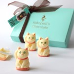 White Chocolate Fortune-Telling Cats
